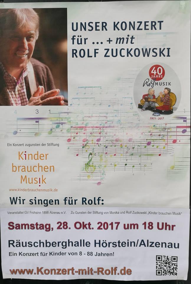 Konzert von und mit Rolf Zuckowski